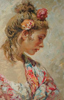 Shawl Suite of 2 Serigraphs  1997 Panel Limited Edition Print by  Royo - 1