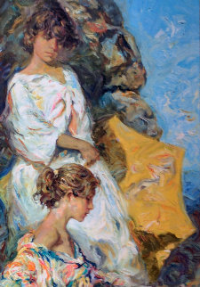 Junto Al Mar 1998 Limited Edition Print -  Royo