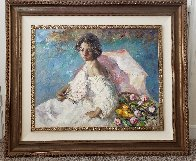 Atardecez 2004 44x51 Super Huge Original Painting by  Royo - 1