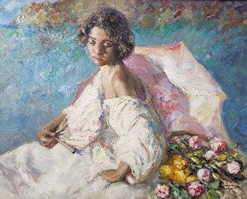 Atardecez 2004 44x51  Original Painting -  Royo