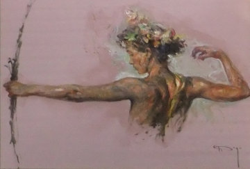 Eter From the Sagittas Museum Collection 44x55 Super Huge Original Painting -  Royo