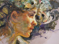 Extasis From the Sagittas Museum Collection 32x25 Original Painting by  Royo - 1