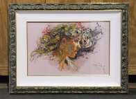 Extasis From the Sagittas Museum Collection 32x25 Original Painting by  Royo - 2