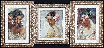 La Perla, Adolescencia, and Estudio Framed Set of 3 - Panel Limited Edition Print -  Royo