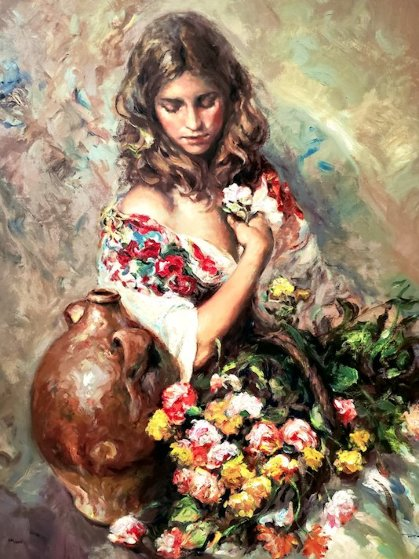 Sentimiento  2004 Panel Limited Edition Print by  Royo