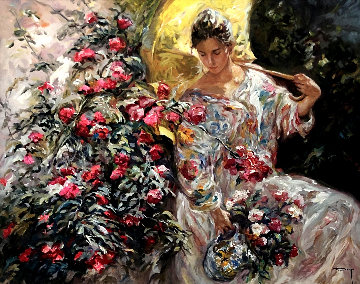 En Flor AP 2000 Limited Edition Print by  Royo