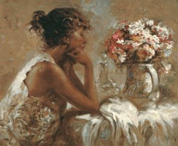 Pensativa PP 2000 Limited Edition Print -  Royo