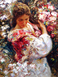 Primavera PP 1999 Limited Edition Print by  Royo