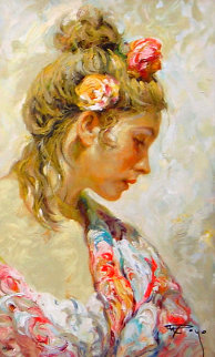Shawl Suite PP 1998 Limited Edition Print by  Royo