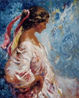 Entre Azules PP Panel  Limited Edition Print -  Royo