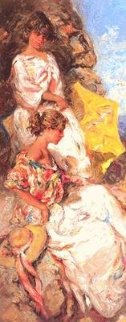 Junto Al Mar PP Panel  Limited Edition Print -  Royo