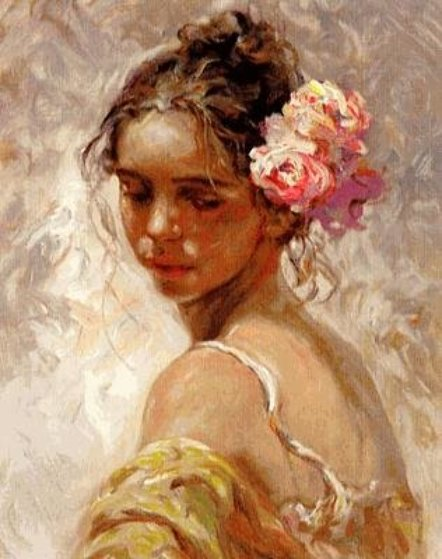 La Perla PP Limited Edition Print by  Royo