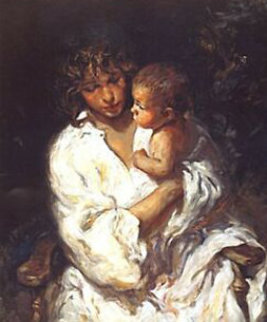 Maternidad PP Panel  Limited Edition Print -  Royo
