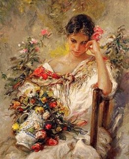 Recuerdo PP Limited Edition Print by  Royo