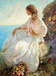 Contemplacion PP Limited Edition Print by  Royo