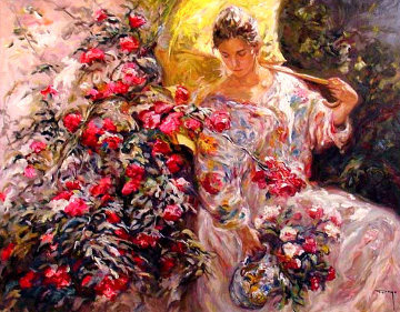 En Flor PP Limited Edition Print by  Royo