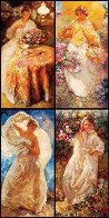 Four Seasons Suite of 4 PP Limited Edition Print by  Royo - 0
