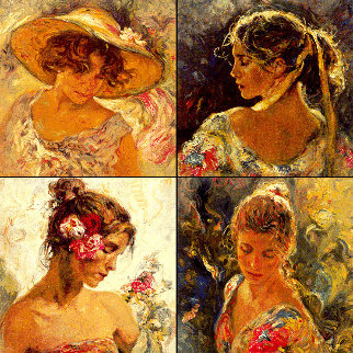 Todas Las Luces Del Dia Suite of 4 PP  Limited Edition Print -  Royo