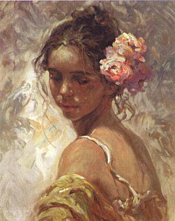 La Perla on Clay Panel 2000 Limited Edition Print -  Royo