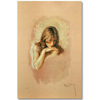 Pensativa 1997 Limited Edition Print by  Royo - 1