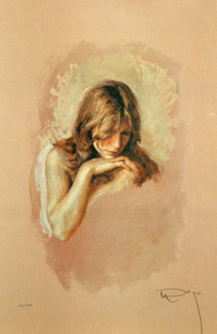 Pensativa 1997 Limited Edition Print by  Royo