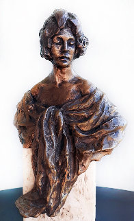 Lucia Bronze Sculpture 14 in Sculpture -  Royo