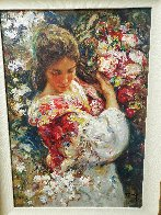 Primavera AP 1999 with book on panel Limited Edition Print by  Royo - 2