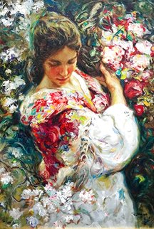 Primavera AP 1999 with book on panel Limited Edition Print -  Royo