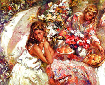 Adornando La Mesa 1999 Panel Limited Edition Print -  Royo