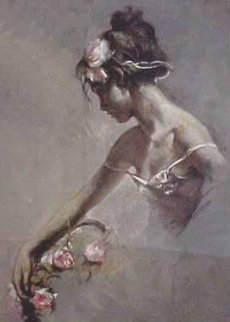 Imagen on Clay Panel 2000 Limited Edition Print by  Royo