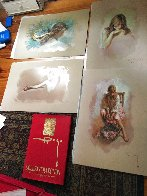 Golden Collection 1997 Suite of 4 Limited Edition Print by  Royo - 1