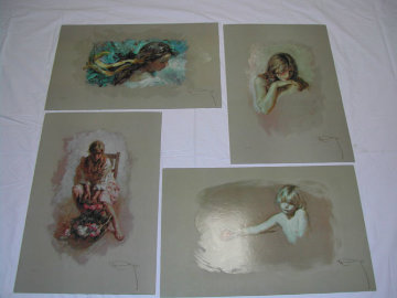 Golden Collection Suite of 4 1997 Limited Edition Print -  Royo