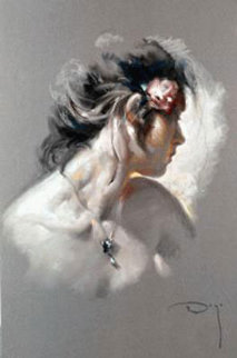 La Joya on Clay Panel 2003 Limited Edition Print by  Royo