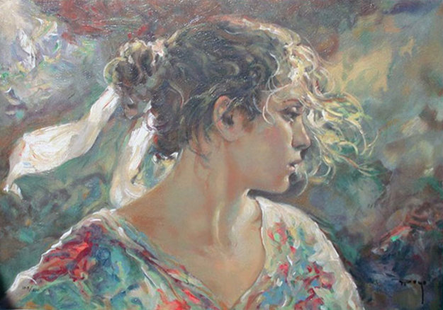 Nostalgia on Clay Panel 2004 Limited Edition Print by  Royo