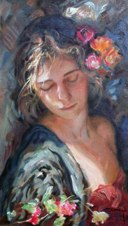 Luces Y Sombras on Clay Panel 2002 Limited Edition Print by  Royo