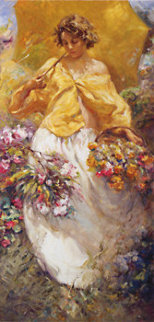 Four Seasons Suite 4 on Clay Panel Limited Edition Print by  Royo