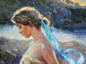 Instante De Luz 2005 Embellished Limited Edition Print -  Royo