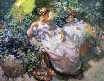 Sentada En El Jardin 1996 Limited Edition Print -  Royo