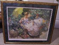 Sentada En El Jardin 1996 Limited Edition Print by  Royo - 1