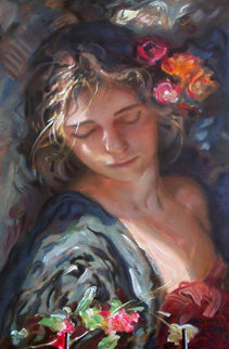 Luces Y Sombres on clay board 2002 Limited Edition Print by  Royo
