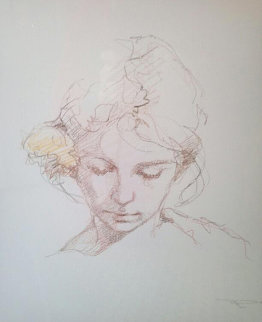 Untitled Drawing Portrait 2009 Drawing by  Royo