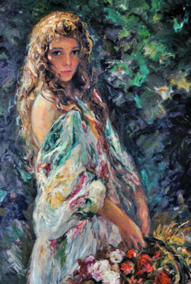 El Paseo 2004 Limited Edition Print by  Royo