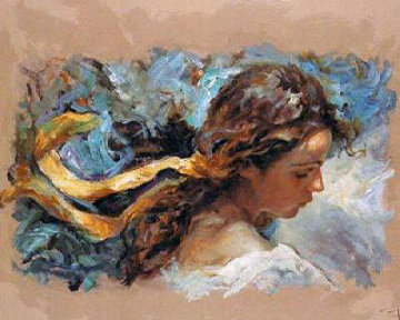 Elnlazo Amarillo on Panel Limited Edition Print -  Royo