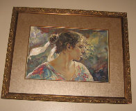 Nostalgia on clay panel 2004 Limited Edition Print by  Royo - 1