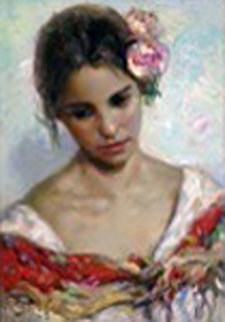 El Tocada 33x26 Huge Original Painting -  Royo