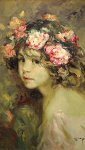 Inocencia on Canvas Limited Edition Print -  Royo