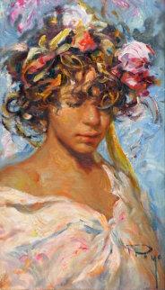 Saggitus 1980 30x22 Original Painting -  Royo