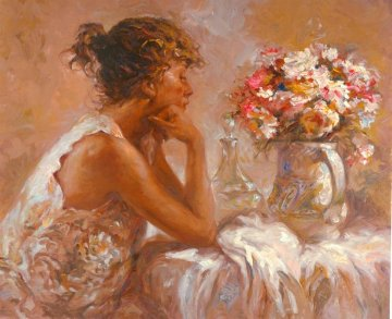 Pensativa 2000 Limited Edition Print by  Royo