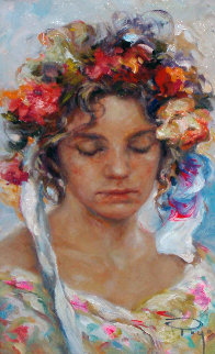 Floreal  2001 29x22 Original Painting by  Royo