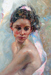 Suave 2010 30x24 Original Painting by  Royo